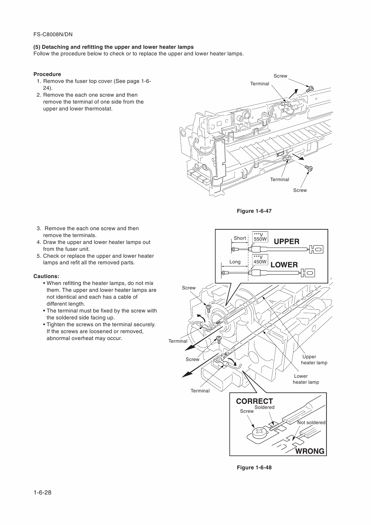 KYOCERA ColorLaserPrinter FS-C8008N DN Parts and Service Manual-4